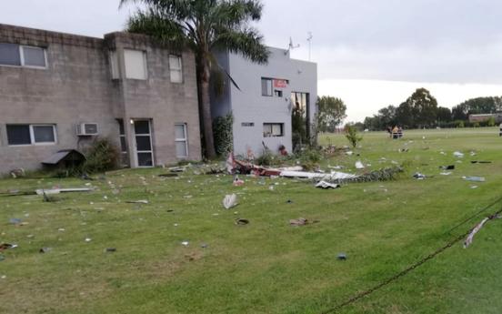 Un piloto de 74 años murió al caer el avión que conducía en General Rodríguez