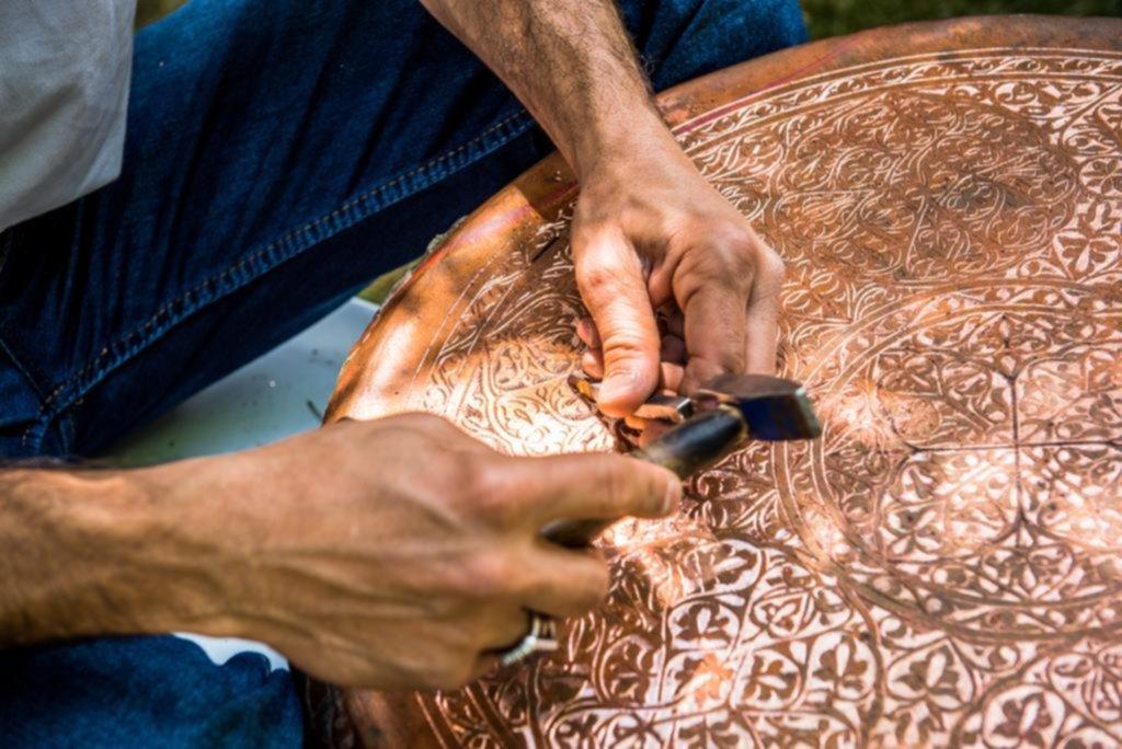 Las artesanías entran en cada ambiente