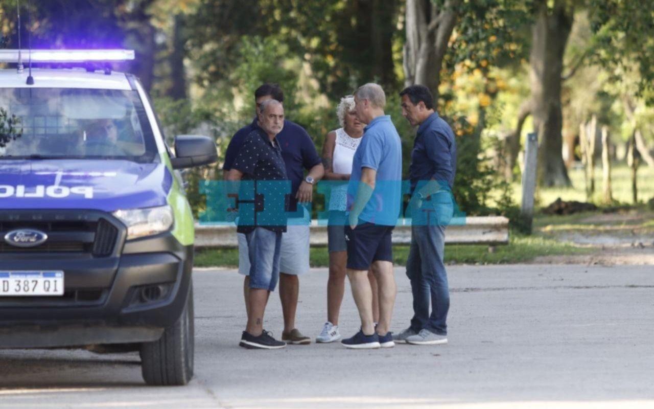 Diego Maradona dirige mañana la práctica en Estancia Chica y define su futuro