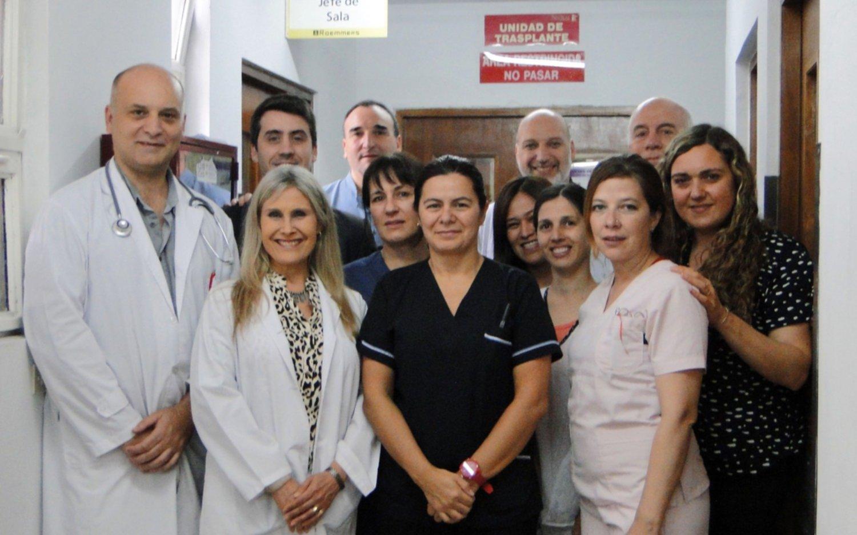 Por primera vez extraen un riñón vía vaginal en un hospital platense