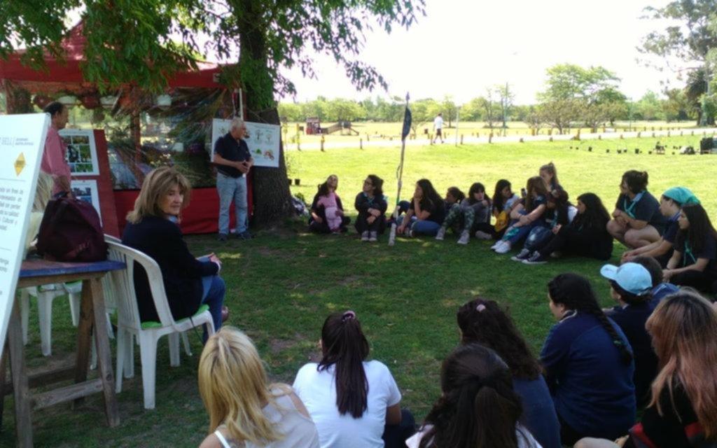 Con una feria temática, celebraron en Villa Elisa el Día Mundial de la Ecología