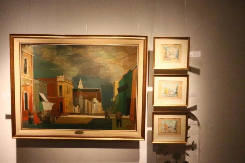 Una historia de La Plata narrada con pinceles y óleo