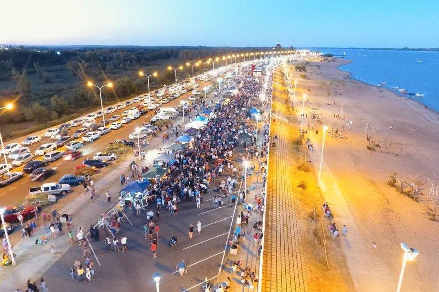 A orillas del Río Uruguay: playas y naturaleza