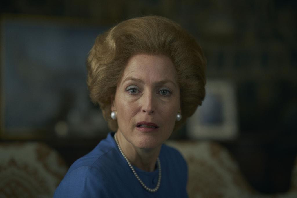 Impactante: Gillian Anderson y su elogiada recreación de Thatcher