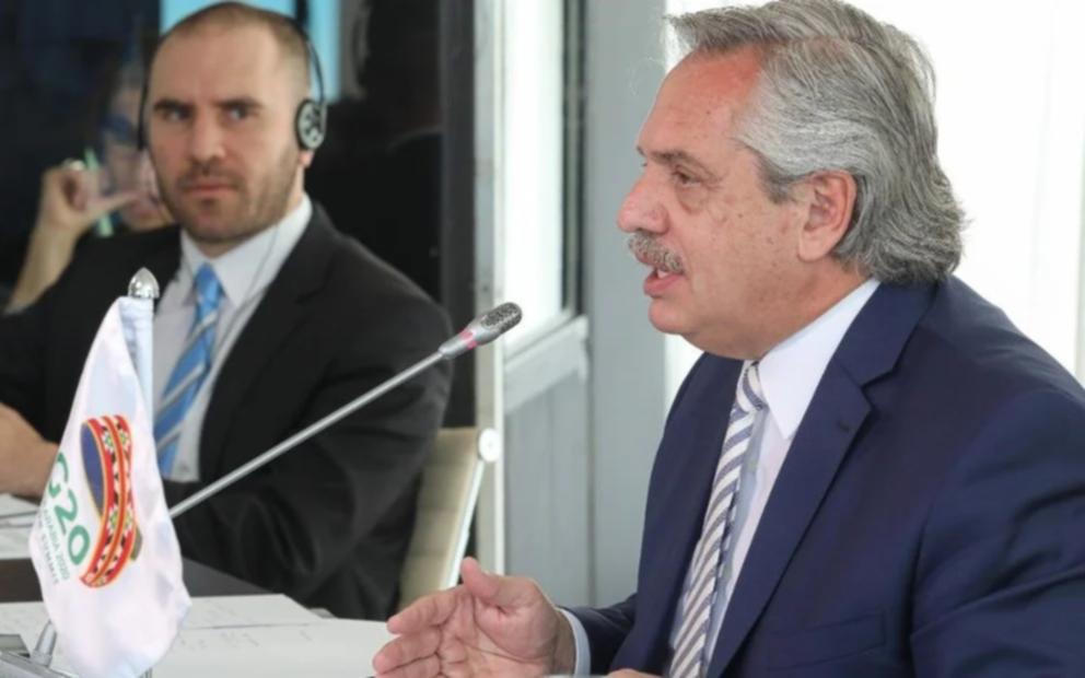 """Alberto Fernández ante el G20: """"El mundo transita hacia niveles alarmantes de desigualdad"""""""