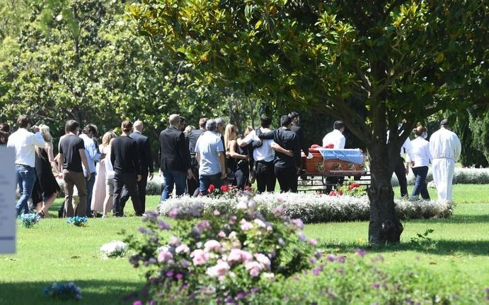 El ùltimo adiós a Jorge Brito: familiares y amigos lo despidieron en un cementerio de Pilar