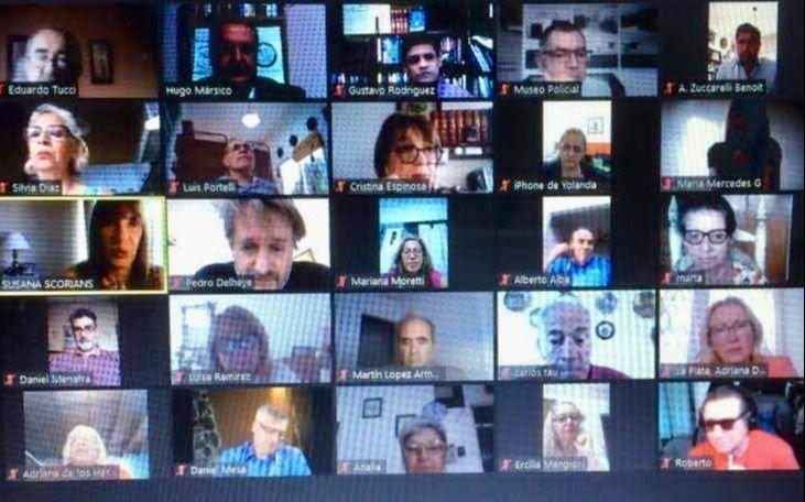 Conversatorio por Zoom para recordar a personalidades históricas de La Plata