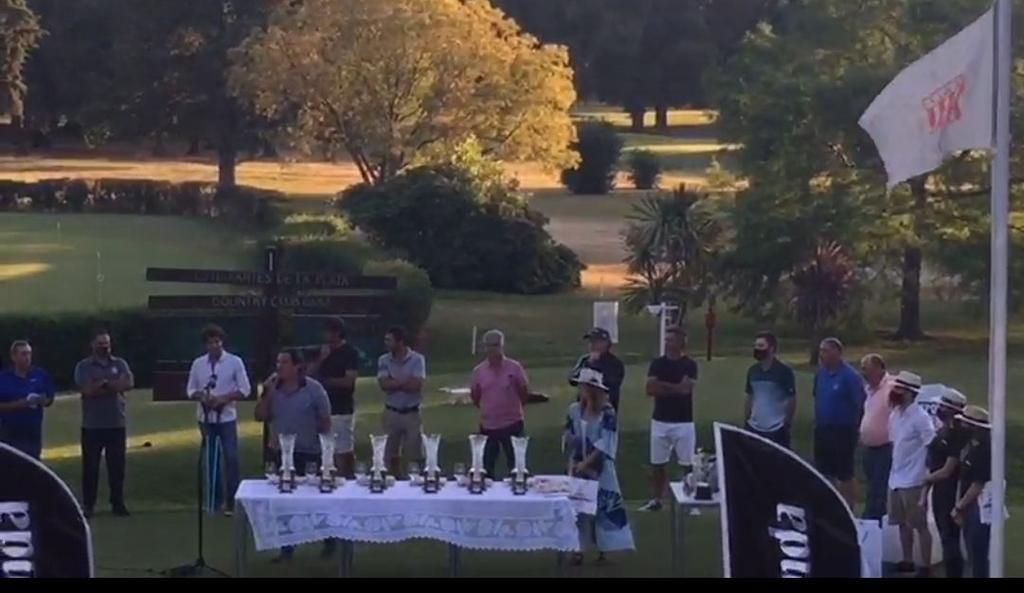 Se disputó el Gran Premio Ciudad de La Plata de Golf