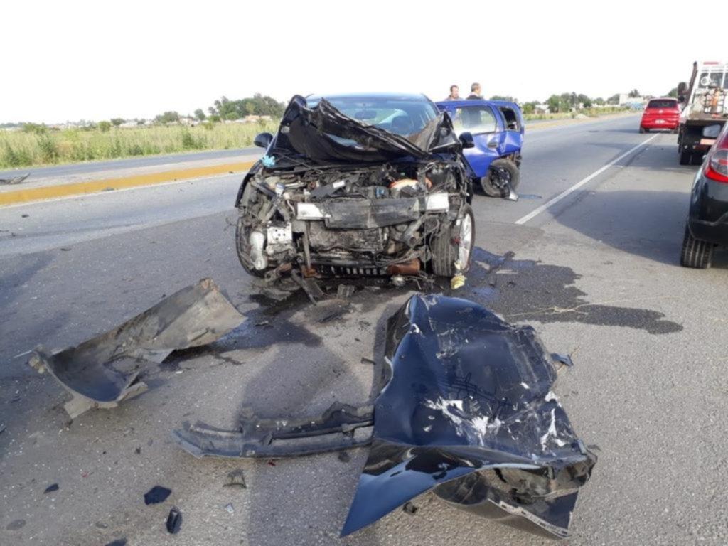San Vicente: muerte y denuncia en un choque con el hermano del intendente entre los heridos