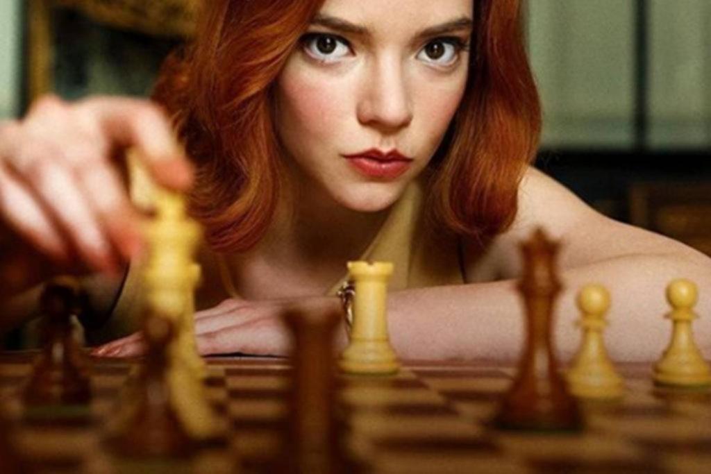"""""""Gambito de Dama"""": los números de un fenómeno televisivo que revigoriza al ajedrez"""