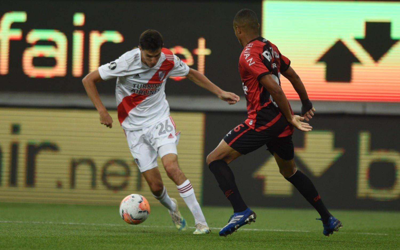 En Curitiba, River empató 1-1 con Paranaense