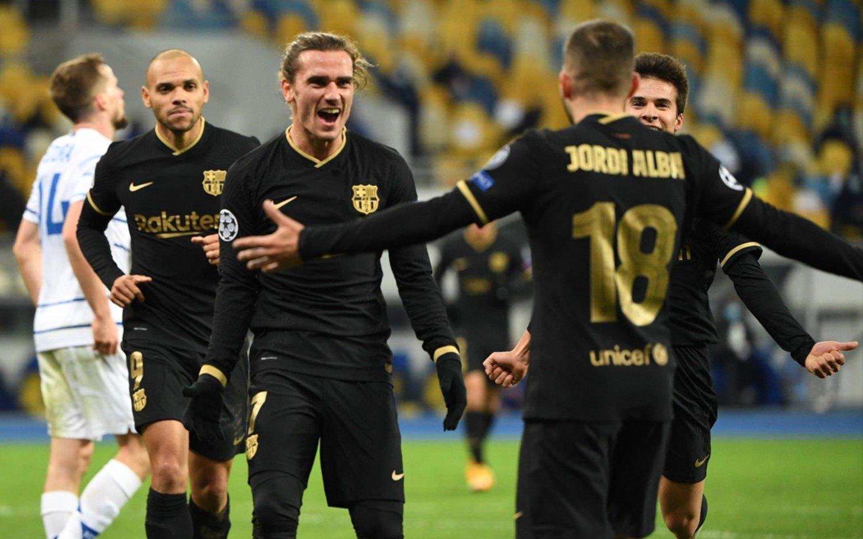 PSG se recuperó ante Leipzig y goleada de Barcelona en Kiev