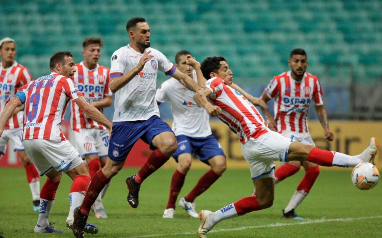 Unión cayó ante Bahía en Brasil por los octavos de final de la Sudamericana