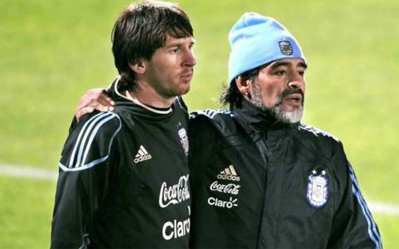 Maradona: el último adiós de Messi y los futbolistas de la Selección Argentina