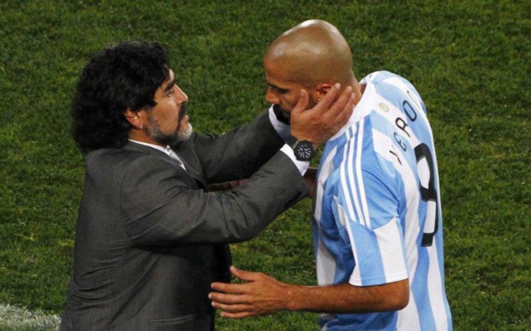 """El mensaje de Verón por la muerte de Maradona: """"No importa qué pasó, solamente te digo gracias"""""""