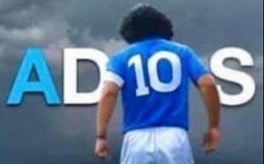 A las 10, la Argentina homenajeó al Diez: Aplausos multitudinarios y estadios iluminados