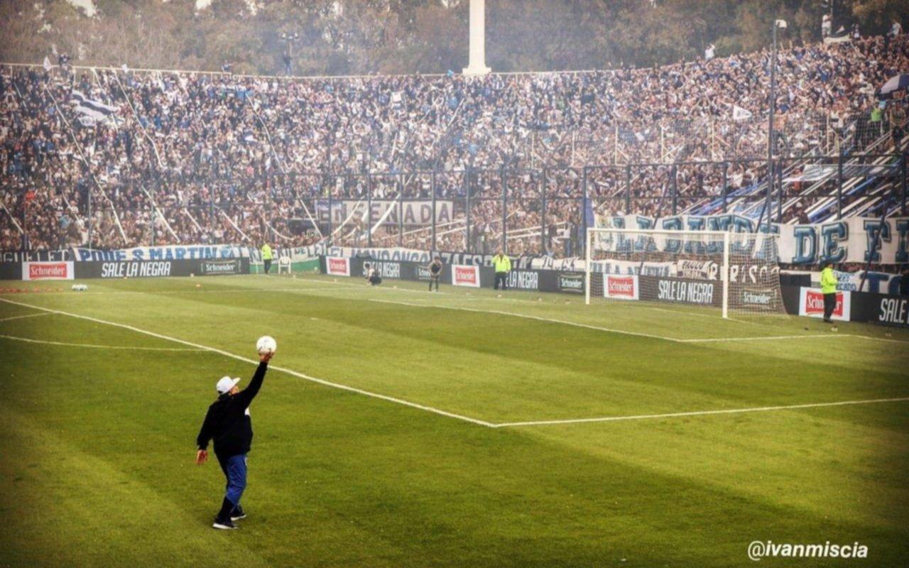 El gran homenaje del fútbol argentino