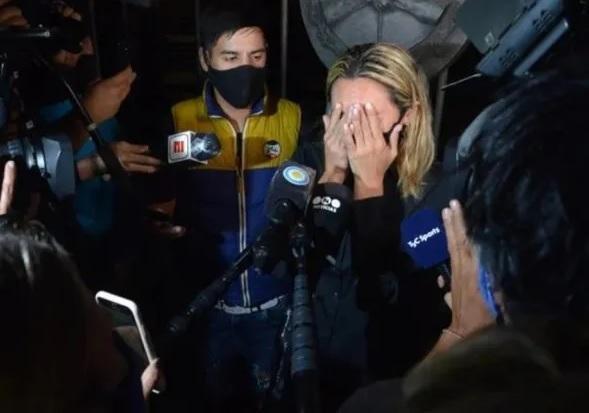 Sin paz: no faltaron los escándalos en el adiós a Maradona