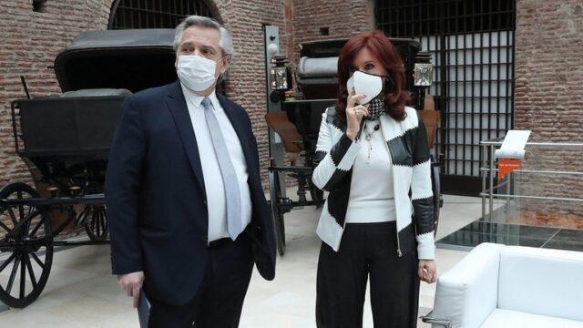 La relación de Alberto y Cristina abona el clima de incertidumbre política