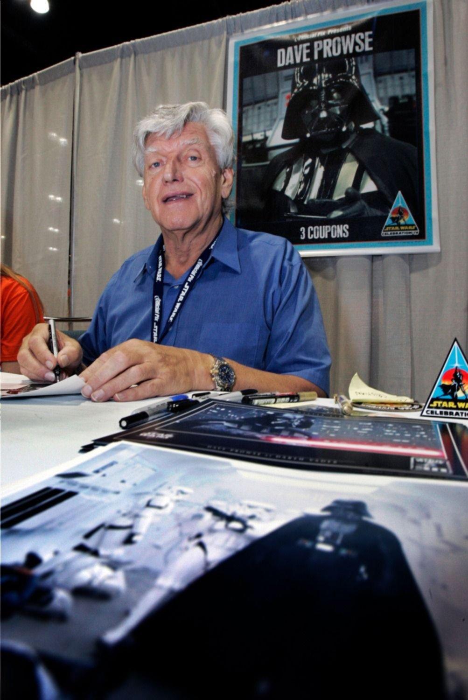 El 2020 no para: murió Dave Prowse, quien fuera  Darth Vader en la trilogía orginal de Star Wars