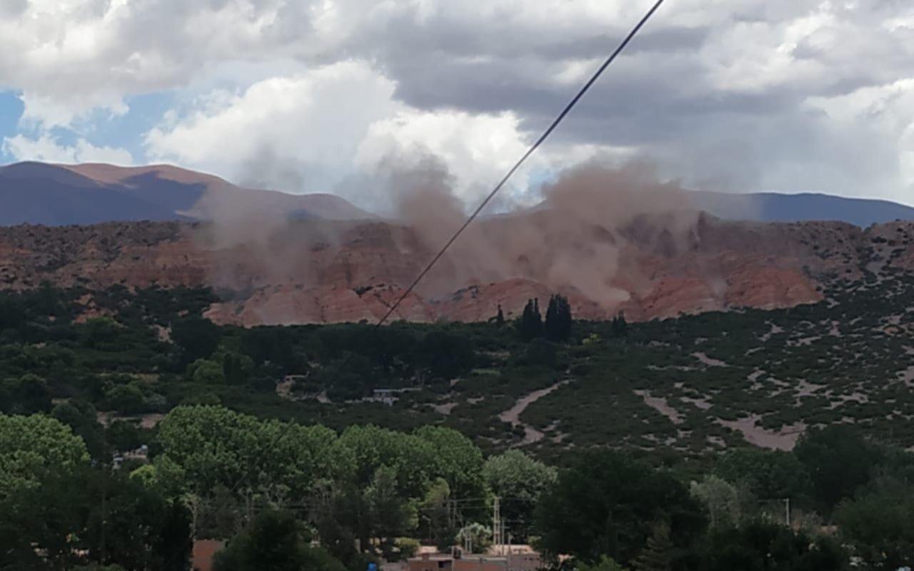 Un sismo de 5.9 en Salta y Jujuy produjo desmoronamientos en Humahuaca
