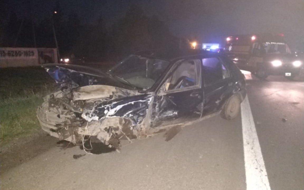Choque múltiple en Ruta 2:  ocho personas tuvieron que ser internadas en hospitales de La Plata