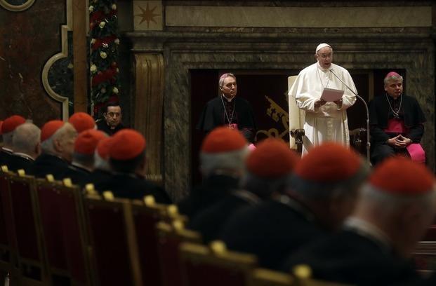 """El Papa denunció """"resistencias malvadas"""" dentro de la Iglesia"""