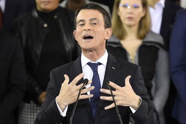 El premier Valls se postula a la presidencia de Francia