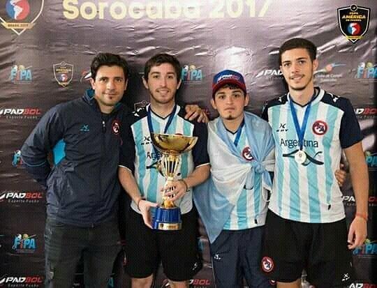 Se consagraron campeones de América de Padbol, en Brasil