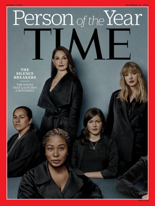 """Time eligió a víctimas de abuso sexual como """"Persona del año"""""""