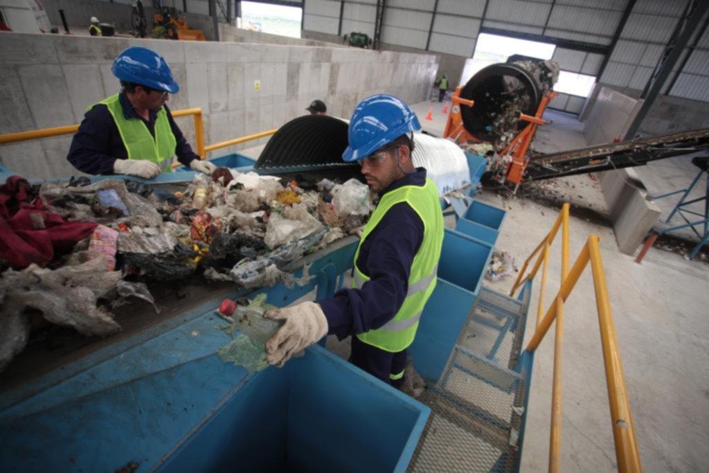 Empezó a funcionar la nueva planta de residuos de Ceamse, que estará a pleno en marzo