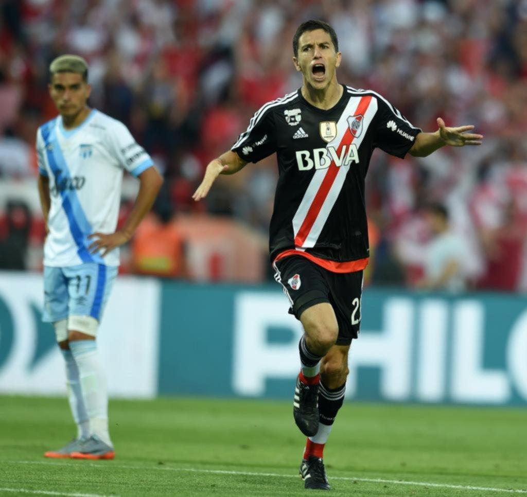 La felicidad de Nacho Fernández tras su golazo y la consagración - Deportes