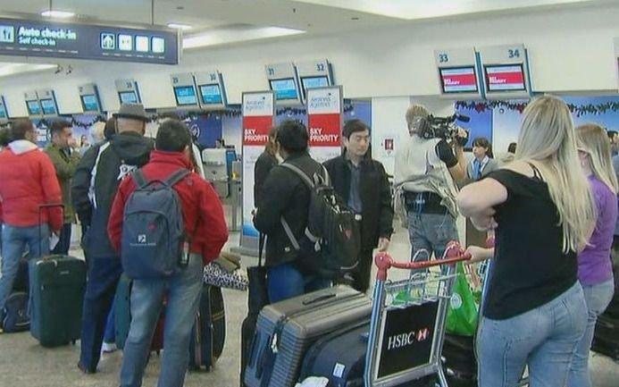 Vuelos cancelados en Aeroparque por el paro de la CGT