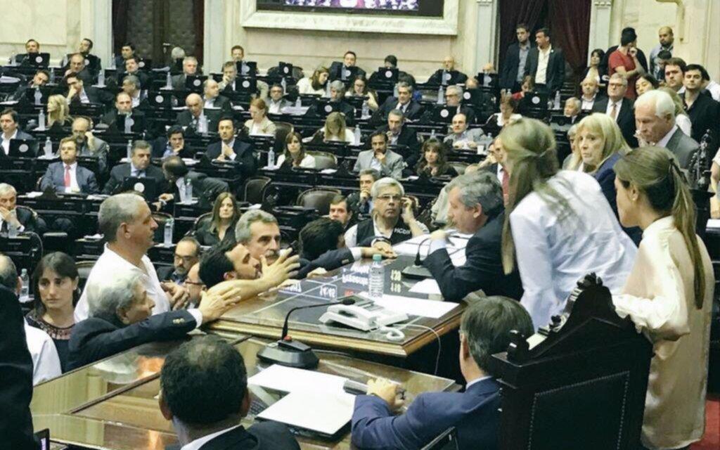EN VIVO: la reforma previsional se debatía esta noche y se estimaba una votación por la madrugada