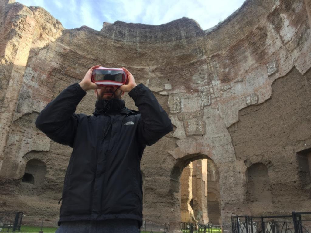 Se pueden conocer las Termas de Caracalla en Roma, con su esplendor original, gracias a la realidad virtual