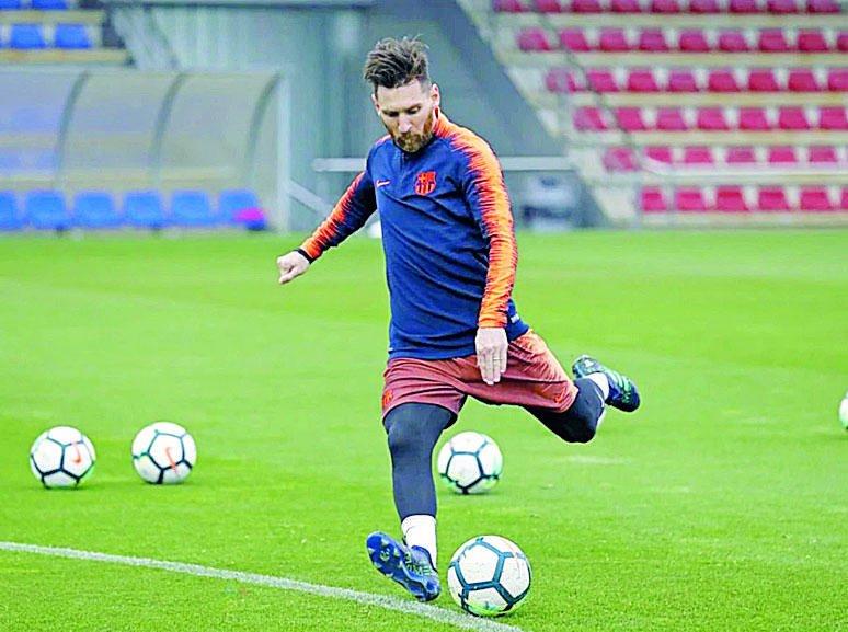 Ronaldo no estará en el Bernabeú... ¿qué hará Messi?