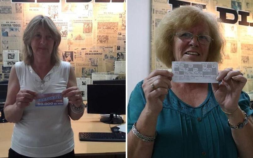Dos jubiladas se repartieron los $300.000 del megapozo del Cartonazo de EL DIA