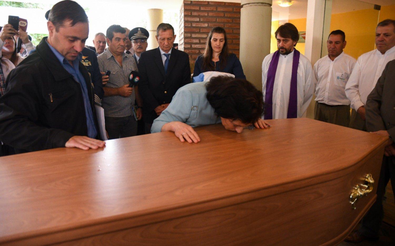 Ya descansan en Córdoba los restos de un caído en Malvinas