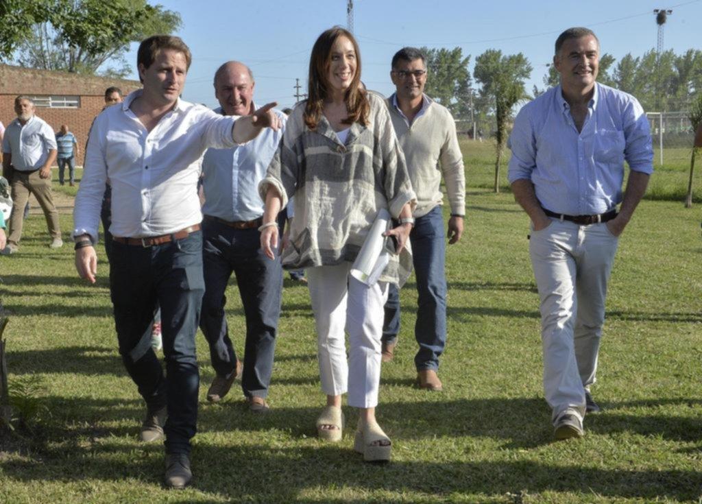 Vidal anunció obras y criticó la gestión de Scioli