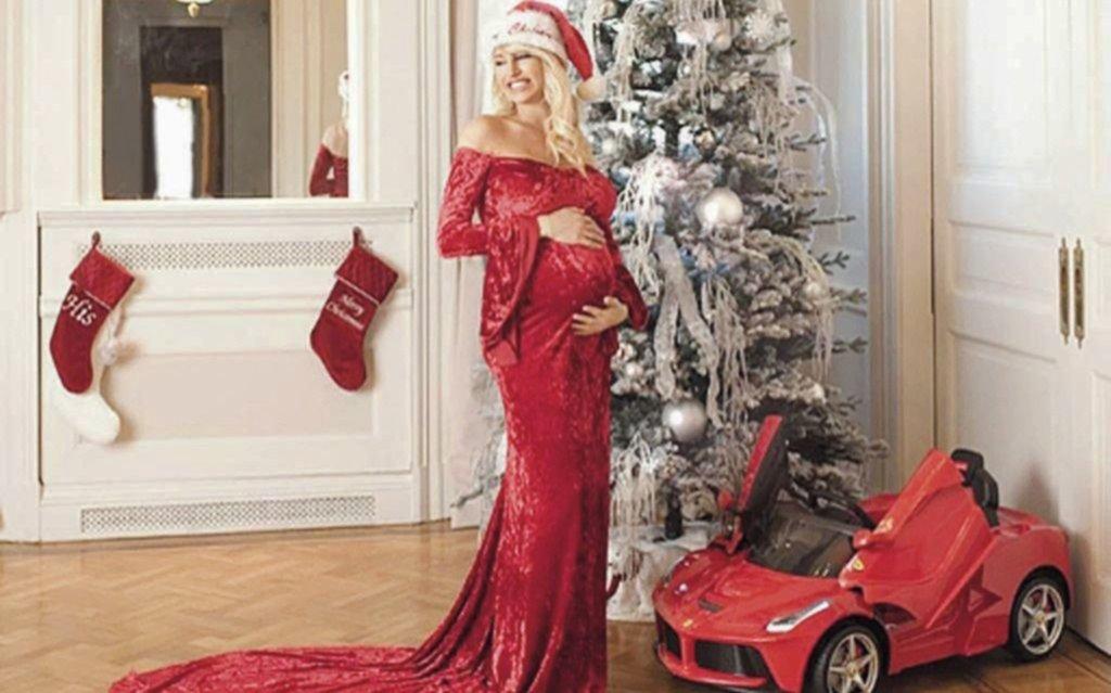 a1e60a574fac Xipolitakis sigue esperando a Salvador con todo el lujo  tras regalar  dólares en su baby shower