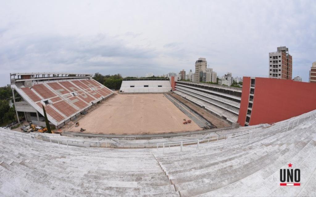 Preparan al estadio albirrojo para que sea el primero sustentable del mundo