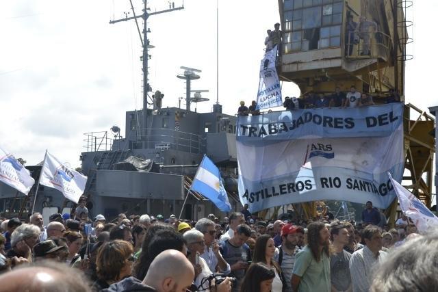 El Astillero Río Santiago entregó un buque patrullero reparado a la Armada