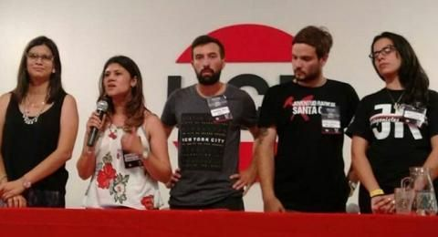 """""""Elijo y le creo a la mujer"""" dijo Luciana Rached, titular de la Juventud Radical"""