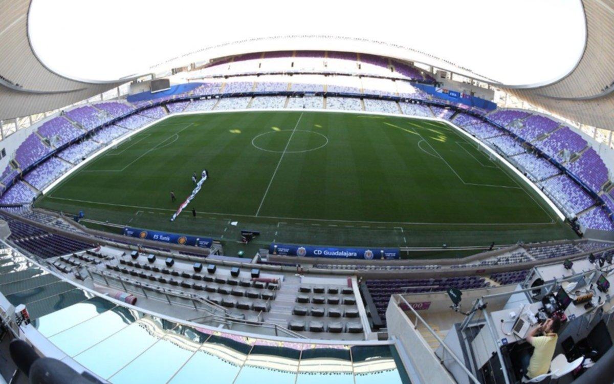 Las pruebas piloto de la FIFA para el partido Al Ain-River
