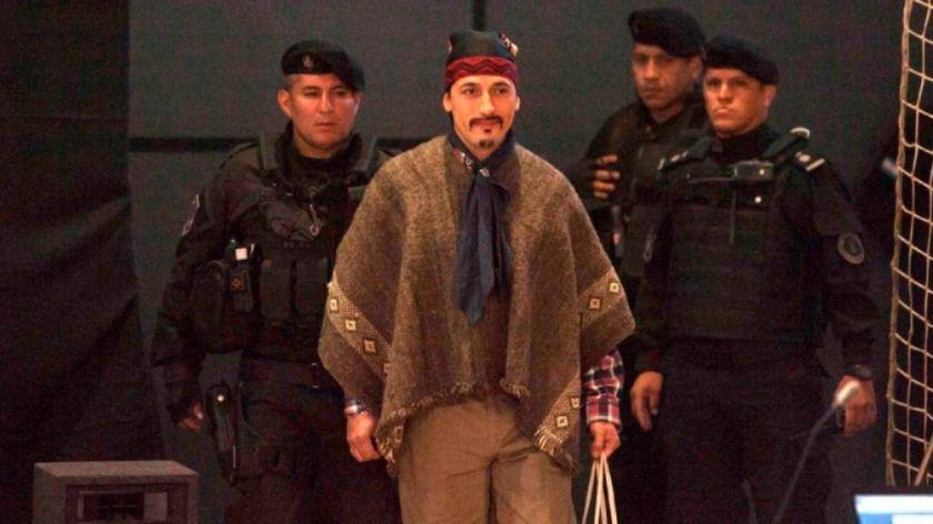 Facundo Jones Huala fue condenado a 12 años de prisión en Chile