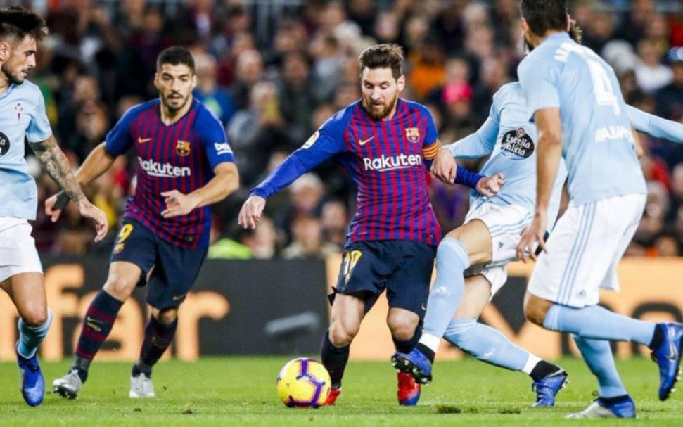 Resumen y goles del Barcelona vs. Celta de la Liga Santander