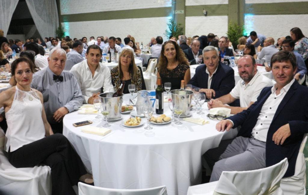 Cena por el cumpleaños de la Liga Amateur Platense de fútbol