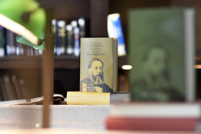 Las obras completas de José Hernández, en la Biblioteca Nacional