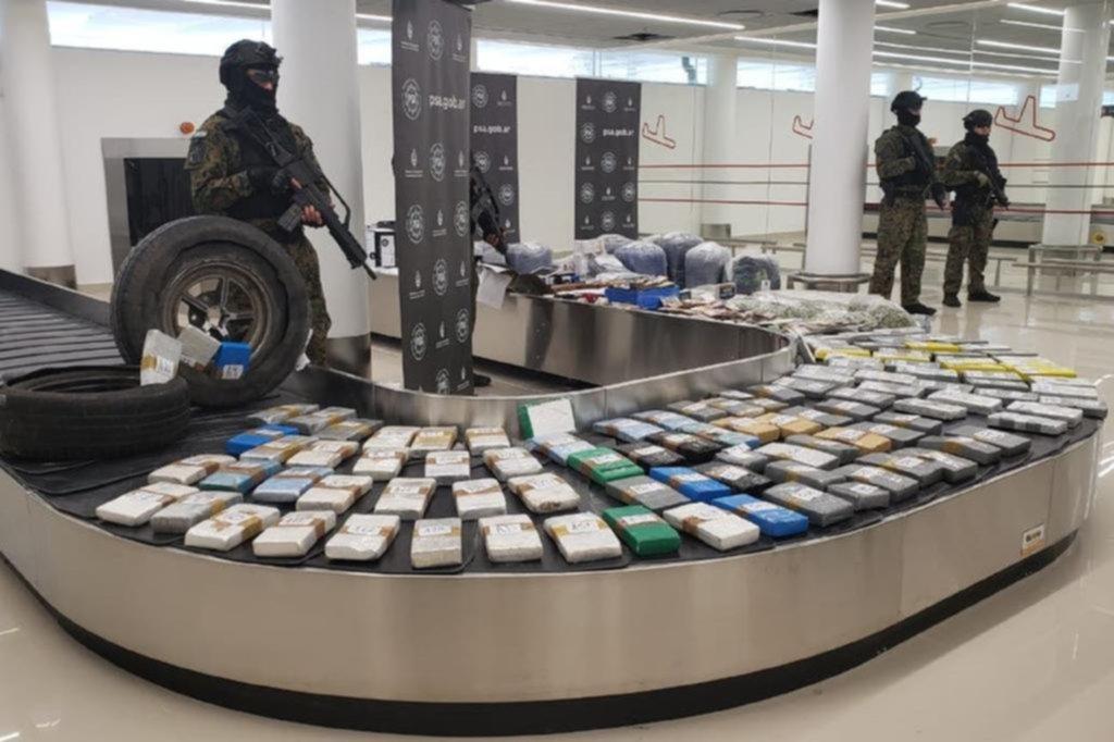 En Mar del Plata incautaron 13.400 dosis de cocaína