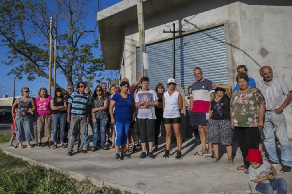 Fuerte reclamo vecinal contra la inseguridad en San Carlos